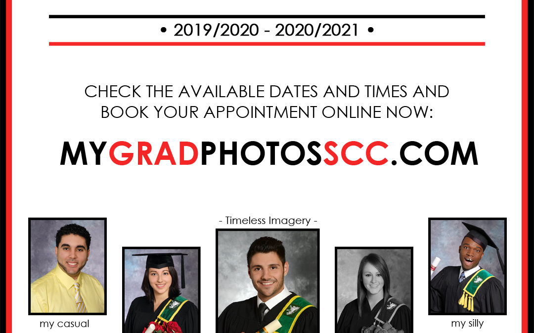 New Dates Added To Book Your Grad Photo's