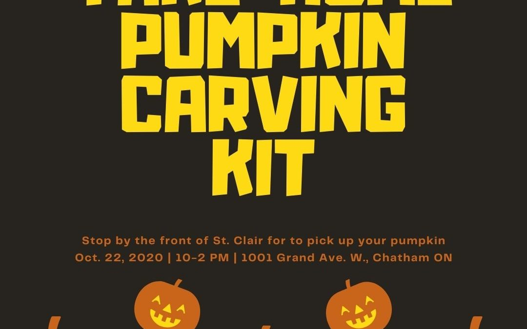Take-Home Pumpkin Carving Kits Available October 22nd