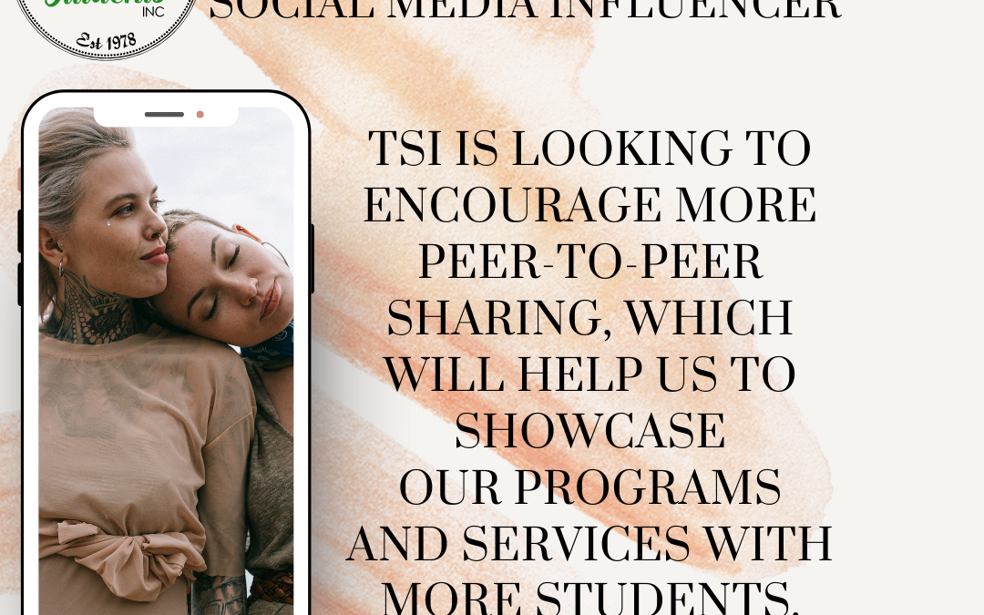 Social Media Influencers Wanted To Join Our Team