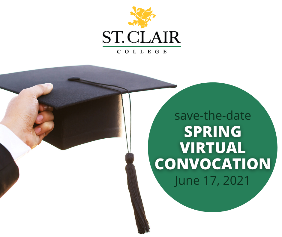 St. Clair College Spring Virtual Convocation