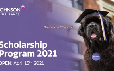 Johnson Insurance Scholarship Opportunities Now Available