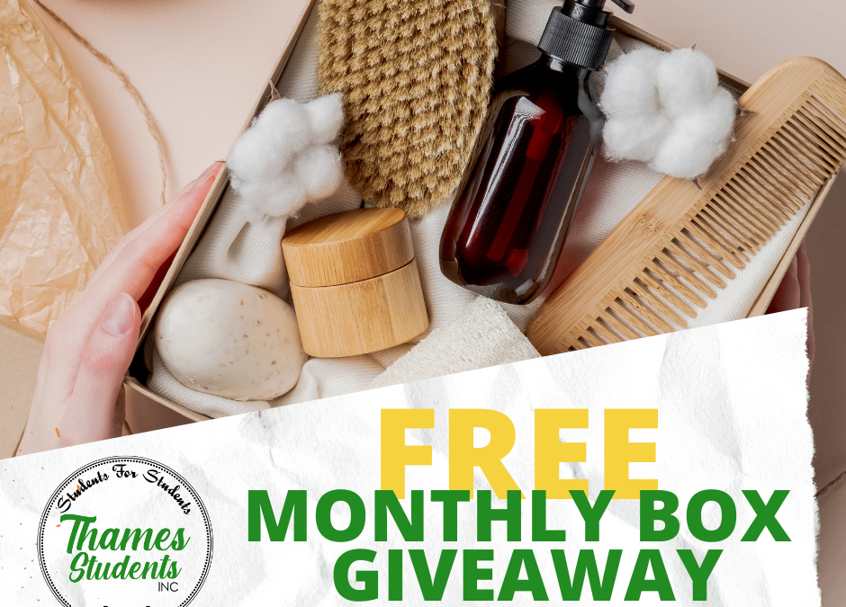 Sign Up For Our New Monthly Giveaway Boxes